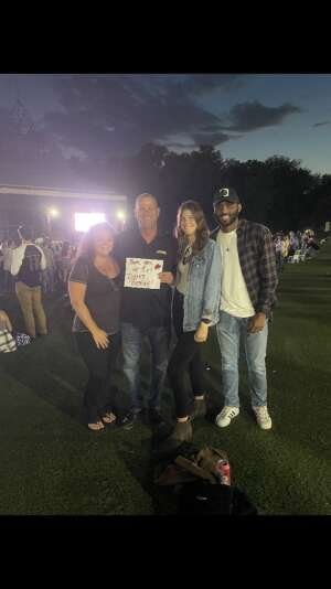 Phillip Bush attended Dierks Bentley - Beers on Me Tour 2021 on Oct 8th 2021 via VetTix