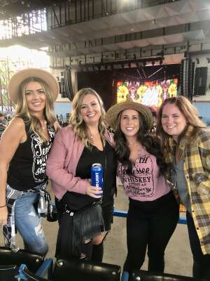 Emily attended Dierks Bentley - Beers on Me Tour 2021 on Oct 8th 2021 via VetTix