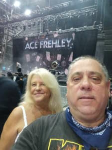 Rocco attended Alice Cooper With Special Guest Ace Frehley on Oct 10th 2021 via VetTix