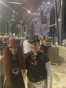 Lani Soleil attended Alice Cooper With Special Guest Ace Frehley on Oct 10th 2021 via VetTix