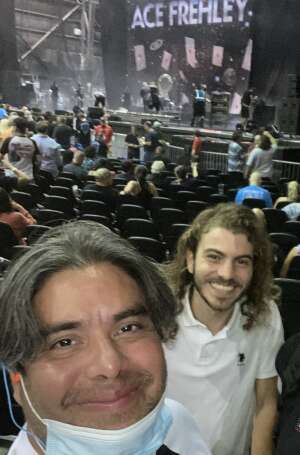 Alfredo Guevara attended Alice Cooper With Special Guest Ace Frehley on Oct 10th 2021 via VetTix