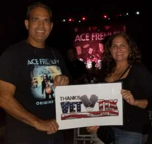 Luis Gonzalez (Gonzo) attended Alice Cooper With Special Guest Ace Frehley on Oct 10th 2021 via VetTix