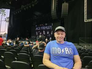 William Jameson attended Alice Cooper With Special Guest Ace Frehley on Oct 10th 2021 via VetTix