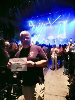 Cody attended Alice Cooper With Special Guest Ace Frehley on Oct 10th 2021 via VetTix