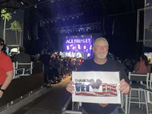 SGT Richard Vreeland RET attended Alice Cooper With Special Guest Ace Frehley on Oct 10th 2021 via VetTix