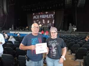 Barry attended Alice Cooper With Special Guest Ace Frehley on Oct 10th 2021 via VetTix
