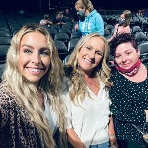 Jeanette  attended Lauren Daigle on Oct 8th 2021 via VetTix
