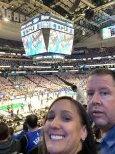 John Eanes attended Dallas Mavericks vs. Utah Jazz - NBA on Oct 6th 2021 via VetTix