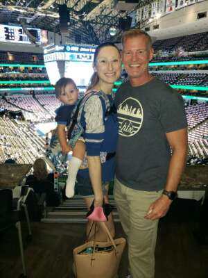 Kirstin R attended Dallas Mavericks vs. Utah Jazz - NBA on Oct 6th 2021 via VetTix