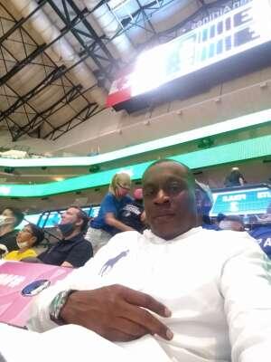Anthony  attended Dallas Mavericks vs. Utah Jazz - NBA on Oct 6th 2021 via VetTix