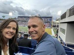 Navy fan attended Navy Midshipman vs. SMU Mustangs - NCAA Football on Oct 9th 2021 via VetTix