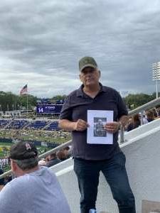Michael Hrycak attended Navy Midshipman vs. SMU Mustangs - NCAA Football on Oct 9th 2021 via VetTix