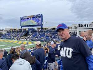 Jim attended Navy Midshipman vs. SMU Mustangs - NCAA Football on Oct 9th 2021 via VetTix