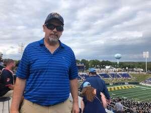 DJ attended Navy Midshipman vs. SMU Mustangs - NCAA Football on Oct 9th 2021 via VetTix