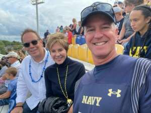 Fred Forney attended Navy Midshipman vs. SMU Mustangs - NCAA Football on Oct 9th 2021 via VetTix