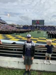Tom attended Navy Midshipman vs. SMU Mustangs - NCAA Football on Oct 9th 2021 via VetTix