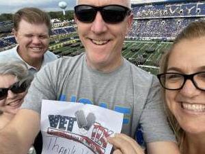 Rick Hern attended Navy Midshipman vs. SMU Mustangs - NCAA Football on Oct 9th 2021 via VetTix