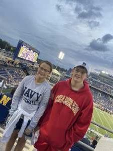 Donnie Driggers attended Navy Midshipman vs. SMU Mustangs - NCAA Football on Oct 9th 2021 via VetTix