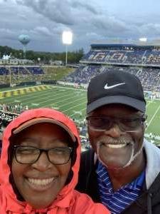 Jerry Massie attended Navy Midshipman vs. SMU Mustangs - NCAA Football on Oct 9th 2021 via VetTix
