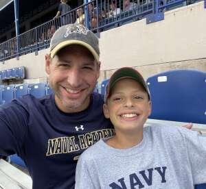 DD attended Navy Midshipman vs. SMU Mustangs - NCAA Football on Oct 9th 2021 via VetTix