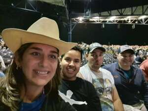 Alm attended Dierks Bentley - Beers on Me Tour 2021 on Oct 9th 2021 via VetTix