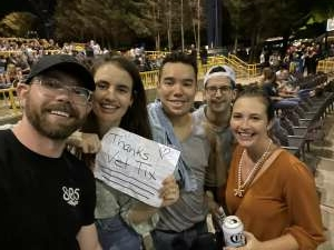 Matt attended Dierks Bentley - Beers on Me Tour 2021 on Oct 9th 2021 via VetTix