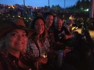 Shelly attended Dierks Bentley - Beers on Me Tour 2021 on Oct 7th 2021 via VetTix