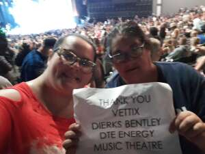 LAVERNEUSN attended Dierks Bentley - Beers on Me Tour 2021 on Oct 7th 2021 via VetTix