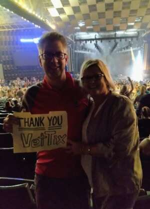 Brad attended Dierks Bentley - Beers on Me Tour 2021 on Oct 7th 2021 via VetTix