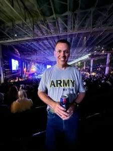 Dan Thomas attended Dierks Bentley - Beers on Me Tour 2021 on Oct 7th 2021 via VetTix