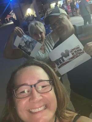 Hoppers attended Brad Paisley Tour 2021 on Oct 8th 2021 via VetTix