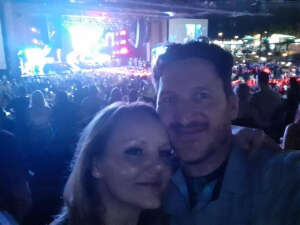 Warren Starbuck attended Brad Paisley Tour 2021 on Oct 8th 2021 via VetTix