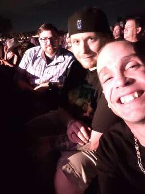 Linda attended Brad Paisley Tour 2021 on Oct 8th 2021 via VetTix
