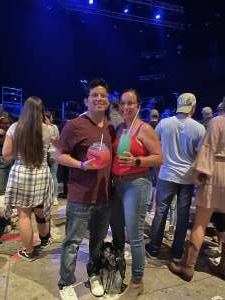Avalos attended Brad Paisley Tour 2021 on Oct 8th 2021 via VetTix