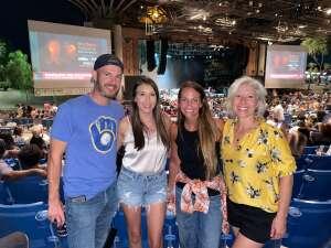 Tiffany attended Brad Paisley Tour 2021 on Oct 8th 2021 via VetTix