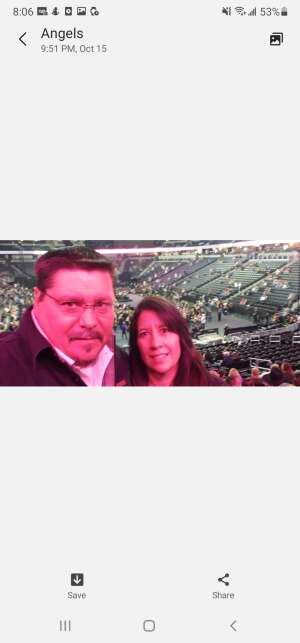 Renee attended Eric Church: the Gather Again Tour on Oct 15th 2021 via VetTix