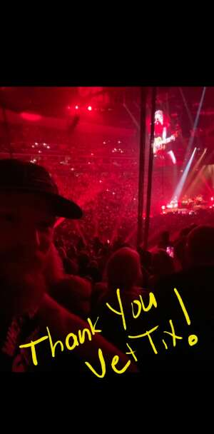 Msg Green attended Eric Church: the Gather Again Tour on Oct 15th 2021 via VetTix