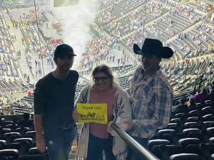 MRolli attended Eric Church: the Gather Again Tour on Oct 15th 2021 via VetTix