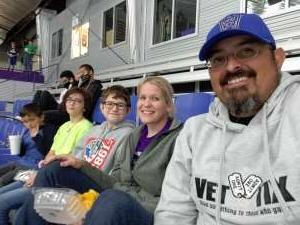 Alex D attended Lone Star Brahmas vs. New Mexico Ice Wolves - NAHL on Oct 9th 2021 via VetTix