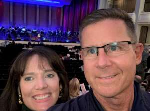 Robert attended Fort Worth Symphony Orchestra Presents: Legends: Paul Simon Songbook on Oct 15th 2021 via VetTix