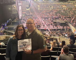 Big Sarge  attended Dan + Shay on Oct 15th 2021 via VetTix