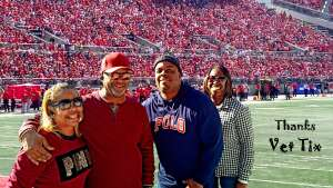 Donald attended Ohio State Buckeyes vs. Maryland Terrapins - NCAA Football on Oct 9th 2021 via VetTix