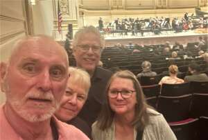 COWG attended Orchestra of St. Lukes on Oct 14th 2021 via VetTix
