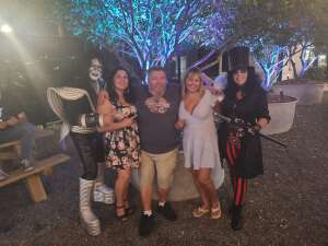 Mkirby attended Alice Cooper With Special Guest Ace Frehley on Oct 9th 2021 via VetTix