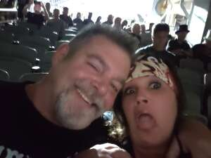 Joey attended Alice Cooper With Special Guest Ace Frehley on Oct 9th 2021 via VetTix