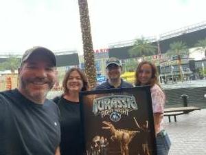 Phillip Baker attended Jurassic Fight Night on Oct 8th 2021 via VetTix