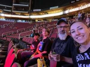 Mr. & Mrs. Mills attended Jurassic Fight Night on Oct 8th 2021 via VetTix