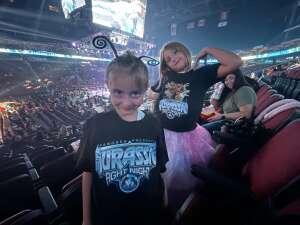 Grammy P.  attended Jurassic Fight Night on Oct 8th 2021 via VetTix