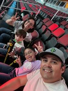 Great night with the kids!! attended Jurassic Fight Night on Oct 8th 2021 via VetTix