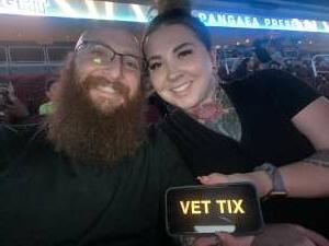 Camerman attended Jurassic Fight Night on Oct 8th 2021 via VetTix